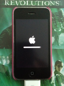 Shift + Restore iPhone3G