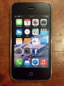 iPhone 3G หน้าตา iOS7 สุดยอดจุงเบย