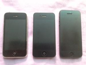 iPhone 3G, iPhone 4, iPhone 5