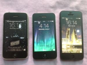 Lock screen: iPhone3G, 4, 5