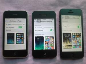 brightness & contrast: iPhone3G, 4, 5