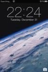 iPhone 3G lock screen