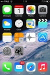 iPhone 3G home screen with BG
